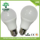 5W 7W 9W 12W A60 플라스틱 알루미늄 LED 전구