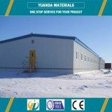 Структура крыши полуфабрикат пакгауза мастерской стальной структуры металлическая