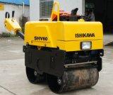 Compacteur de saleté de rouleau de trottoir 650kg de faible puissance avec le moteur diesel