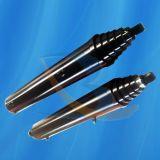 Único cilindro hidráulico ativo de 3 estágios
