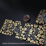 2017 تصميم باريس [ن5] [كرستل غلسّ] حجارة [هوتفيإكس] [رهينستون] رقعة لأنّ زخرفة ([تب-بريسن5])