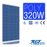 Hoher PolySonnenkollektor der Leistungsfähigkeits-320W mit Cer, CQC und TUV-Bescheinigungen