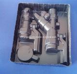 Kugelventil-gesetztes Tellersegment-Schwarzes PS-Tellersegment-Blasen-Verpackungs-Tellersegment