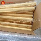 Clinquant d'estampage chaud d'or foncé pour le papier