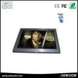 Moniteur LCD grand écran IPS de métal d'entrée AV Moniteur industriel