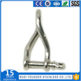 Ss304 en acier inoxydable ou SS316 Anse de torsion