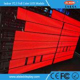 Signe fixe d'intérieur polychrome de P2.5 SMD DEL