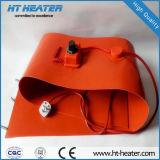 Cobertura de aquecimento / almofada de borracha de silicone industrial Flexível