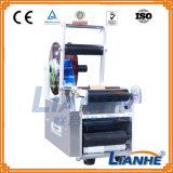 Rotulador manual de la botella redonda/máquina de etiquetado semi automática
