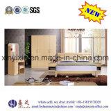 Mobília moderna do quarto do hotel de apartamento da base de madeira (SH039#)