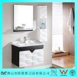 Wand-Gehangen hölzerne Badezimmer-Eitelkeiten für Badezimmer multiplizieren