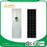 Alimentação do fabricante 120W tudo numa rua Solar Luz para a vida da estrada principal PO4 Bateria IP 65