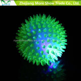 LED Lignt Up Puffer Rabbit Ball Sensory Toy