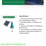 Promotion Hot Sales Portable LED Solar Camping Lamp