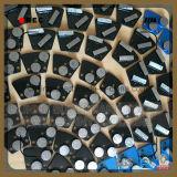 Segments de flèche Metal plancher en béton trapézoïdal Diamond meulage Shoe