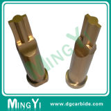 O Pin endurecido do ejetor do estanho/do metal revestimento de Ticn, de bronze morre o perfurador