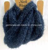 Женщина пряжи пера шарфа способа (Hjs22)