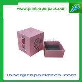 Коробка подарка коробок изготовленный на заказ свечки упаковывая бумажная с ISO9001