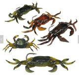 Appui à la pêche douce Appui artificiel au crabe avec crochets tranchants Outil d'accessoire de pêche