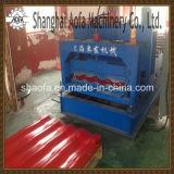 Tuile Glacée en Acier Colorée Faisant le Roulis Formant la Machine