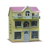 싱숭생숭함 방적공 장난감 나무로 되는 인형 집