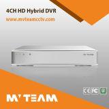 P2p機能(6704H80P)の4CHハイブリッドH. 264ネットワークDVR