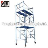 Échafaudage en acier de bâti d'échelle pour la maçonnerie