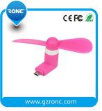 Promoción regalo Venta al por mayor mini ventilador USB para teléfono celular