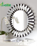 Großhandelshauptdekor-Qualitäts-Kunst-Wand-Spiegel-moderner runder Spiegel