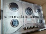 Robuste en acier inoxydable de 5 brûleurs en acier inoxydable Jzs85202