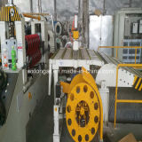 Ligne de production à la machine de fente de tôle d'acier