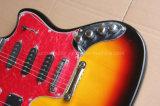 Нот Hanhai/гитара и бас шеи двойника типа ягуара электрическая