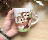Mini taza de café de cerámica de encargo al por mayor con la cuchara para la venta