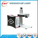 Precio de fibra óptica automático de la máquina de la marca del laser del vuelo de la eficacia alta