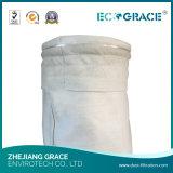 350g-750g de geweven Zak van de Filter van het Stof van de Glasvezel met Deklaag PTFE