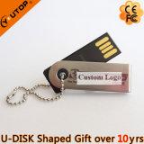 Изготовленный на заказ шарнирное соединение подарка/вращая миниый USB Pendrive (YT-3274)