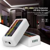 Regulador individual de la tira de WiFi LED del control del grupo de 4 zonas