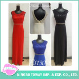 Sexy Ladies V Neck Strap Sequin Decoration Formal Evening Maxi Dress