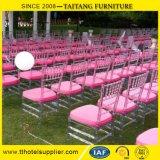 Présidence en plastique claire moderne de Tiffany de présidence de Chiavari pour le mariage