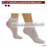 ギフトを広告することは強打する綿の女性のソックスの足首のストッキング(C5103)を