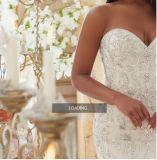 Платья венчания Ctd2015 добавочного поезда Mermaid размера Bridal