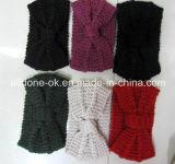 주문 형식 새로운 디자인 손에 의하여 뜨개질을 하는 숙녀 머리띠 Neckwarmer 터번