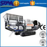 Machine mobile à roues de broyeur de maxillaire de grande capacité