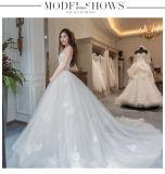 2017着のストラップレスの花嫁のウェディングドレスWm1702