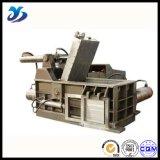 La chatarra inútil de reciclaje horizontal hidráulica saltara las prensas de aluminio de las virutas