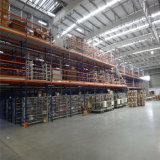 ISO9001 중국 강철 창고 다단계 중이층 선반