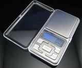 mini Digitaces escala electrónica portable del peso del bolsillo de la joyería de 200g/0.01g