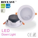 Diodo emissor de luz Downlight do preto 10W do produto novo com Ce&RoHS