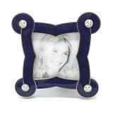 OEM personnalisés gros cadeau de mariage en métal Cadre photo Hx-1844