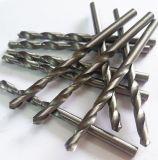 Dígitos binarios de taladro de torcedura del HSS con las varias superficies y los varios materiales